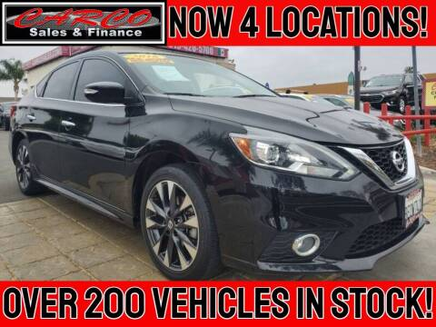 2018 Nissan Sentra for sale at CARCO SALES & FINANCE in Chula Vista CA