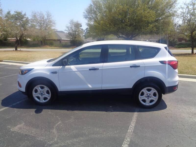 2019 Ford Escape for sale at BALKCUM AUTO INC in Wilmington NC