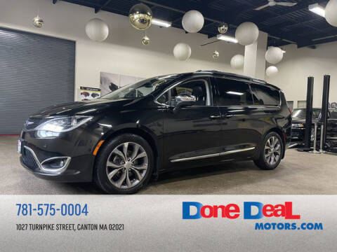 2019 Chrysler Pacifica for sale at DONE DEAL MOTORS in Canton MA