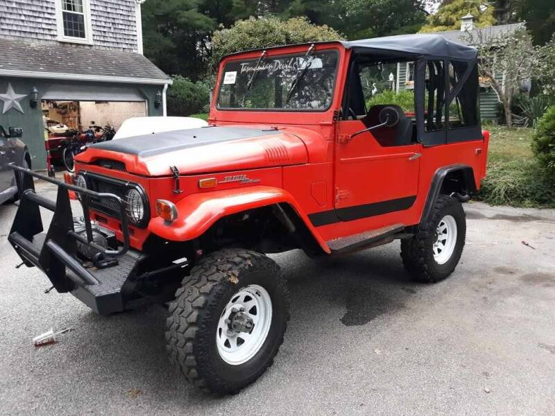 1977 Toyota Land Cruiser for sale at CARuso Classic Cars in Tampa FL