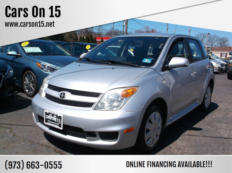 2006 Scion xA for sale at Cars On 15 in Lake Hopatcong NJ