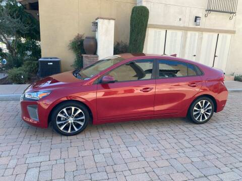 2019 Hyundai Ioniq Hybrid for sale at California Motor Cars in Covina CA