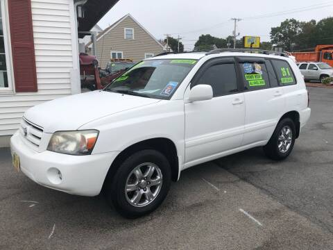 2007 Toyota Highlander for sale at Crown Auto Sales in Abington MA