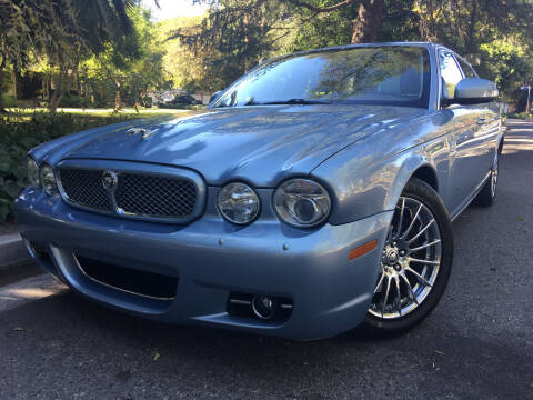 2008 Jaguar XJ-Series for sale at Valley Coach Co Sales & Lsng in Van Nuys CA