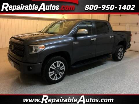 2019 Toyota Tundra for sale at Ken's Auto in Strasburg ND