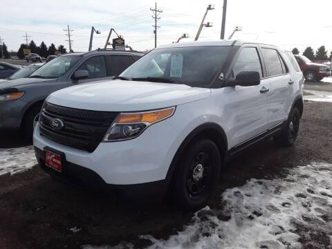 2013 Ford Explorer for sale at BARNES AUTO SALES in Mandan ND