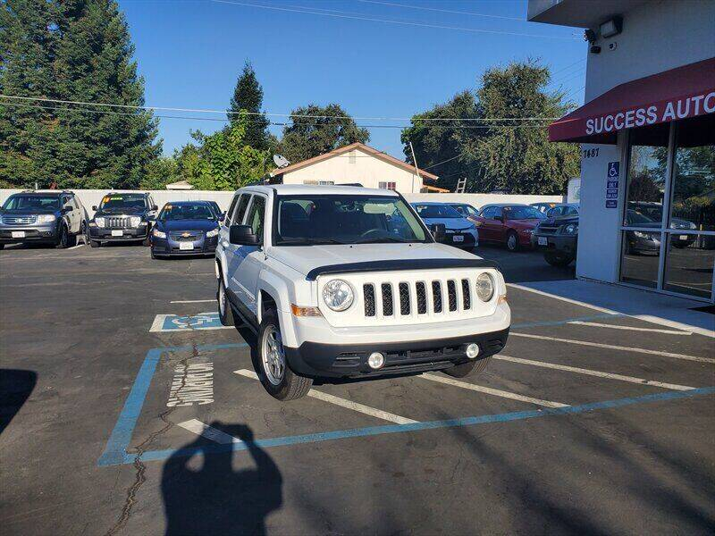 2017 Jeep Patriot for sale at Success Auto Sales & Service in Citrus Heights CA