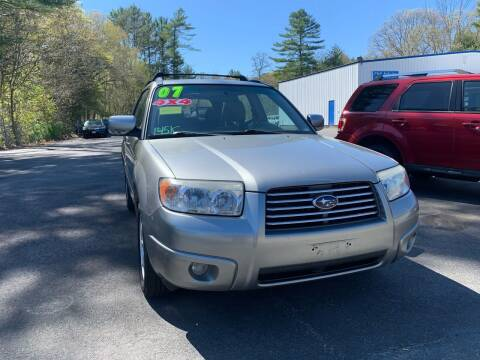 2007 Subaru Forester for sale at F&F Auto Inc. in West Bridgewater MA