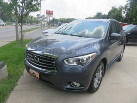 2013 Infiniti JX35 for sale at Azteca Auto Sales LLC in Des Moines IA