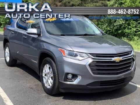 2018 Chevrolet Traverse for sale at Urka Auto Center in Ludington MI