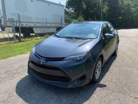 2017 Toyota Corolla for sale at Speed Auto Mall in Greensboro NC