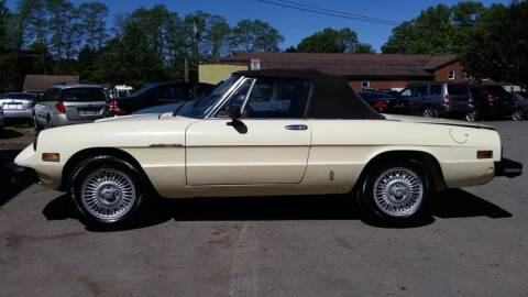 1979 Alfa Romeo Spider for sale at ALL Motor Cars LTD in Tillson NY