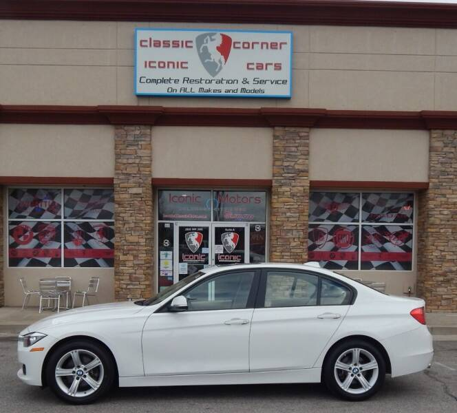 2015 BMW 3 Series for sale at Iconic Motors of Oklahoma City, LLC in Oklahoma City OK