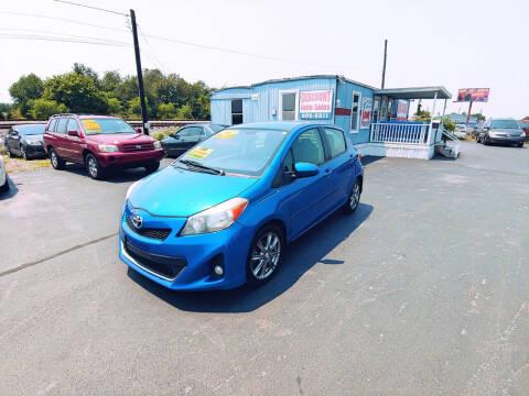 2012 Toyota Yaris for sale at DISCOUNT AUTO SALES in Murfreesboro TN
