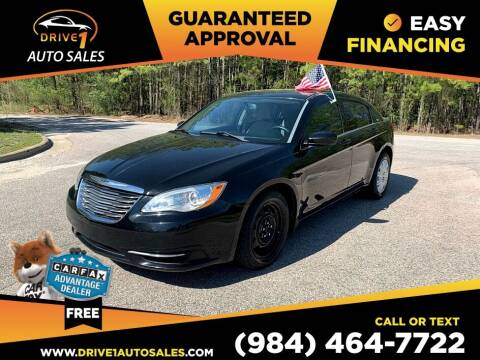 2014 Chrysler 200 for sale at Drive 1 Auto Sales in Wake Forest NC