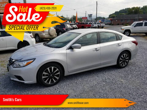 2018 Nissan Altima for sale at Smith's Cars in Elizabethton TN
