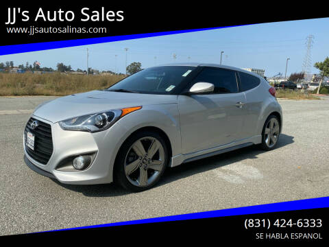 2014 Hyundai Veloster for sale at JJ's Auto Sales in Salinas CA