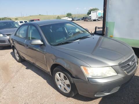 2010 Hyundai Sonata for sale at PYRAMID MOTORS - Pueblo Lot in Pueblo CO