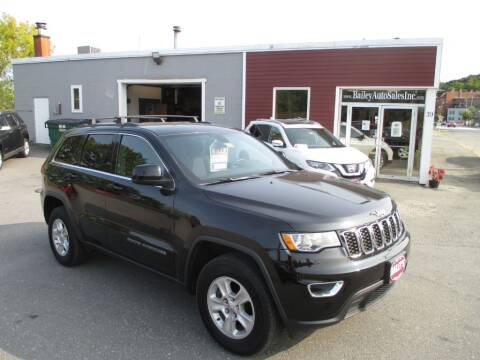 2017 Jeep Grand Cherokee for sale at Percy Bailey Auto Sales Inc in Gardiner ME