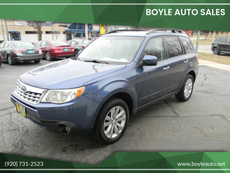 2011 Subaru Forester for sale at Boyle Auto Sales in Appleton WI