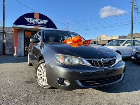 2008 Subaru Impreza for sale at OTOCITY in Totowa NJ