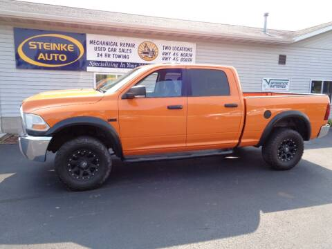 2010 Dodge Ram Pickup 2500 for sale at STEINKE AUTO INC. - Steinke Auto Inc (South) in Clintonville WI