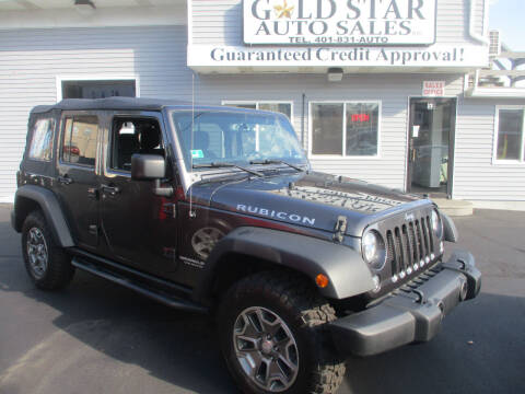 2017 Jeep Wrangler Unlimited for sale at Gold Star Auto Sales in Johnston RI