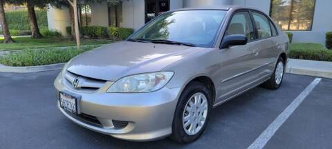 2004 Honda Civic for sale at Top Motors in San Jose CA
