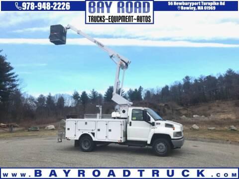 2006 GMC C5500 for sale at Bay Road Trucks in Newbury MA