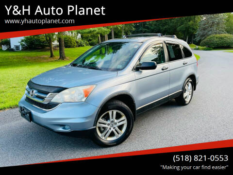 2010 Honda CR-V for sale at Y&H Auto Planet in West Sand Lake NY