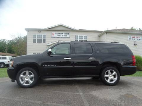 2008 Chevrolet Suburban for sale at SOUTHERN SELECT AUTO SALES in Medina OH