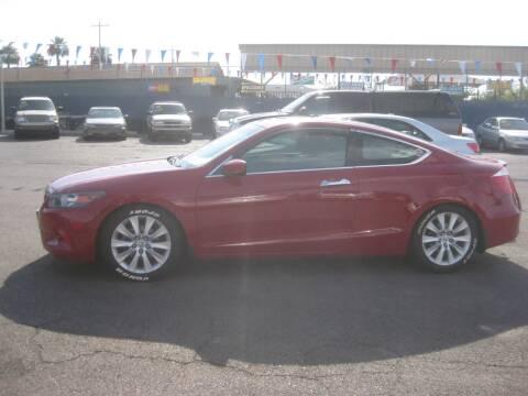 2009 Honda Accord for sale at Town and Country Motors - 1702 East Van Buren Street in Phoenix AZ