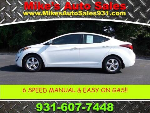 2015 Hyundai Elantra for sale at Mike's Auto Sales in Shelbyville TN