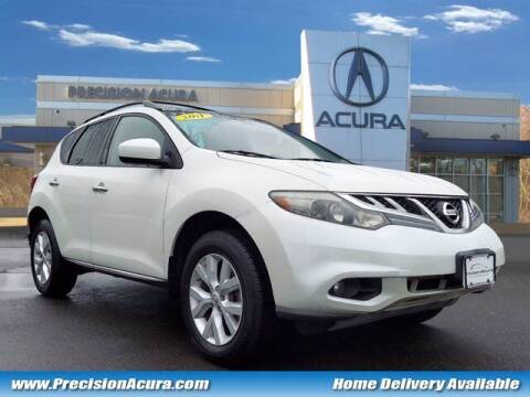 2011 Nissan Murano for sale at Precision Acura of Princeton in Lawrenceville NJ