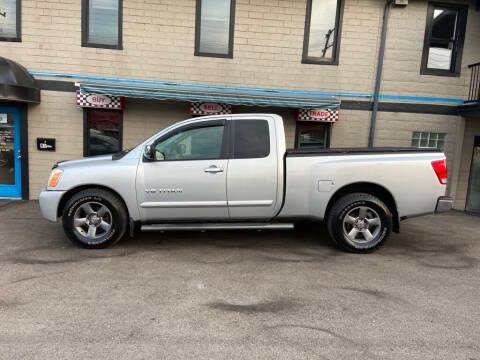 2005 Nissan Titan for sale at Sisson Pre-Owned in Uniontown PA