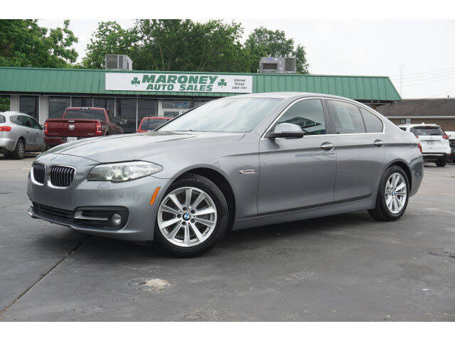 2016 BMW 5 Series for sale at Maroney Auto Sales in Humble TX