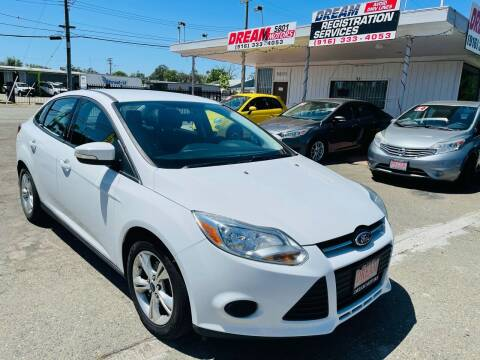 2013 Ford Focus for sale at Dream Motors in Sacramento CA