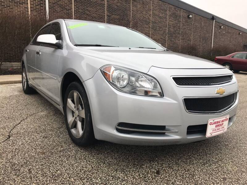 2012 Chevrolet Malibu for sale at Classic Motor Group in Cleveland OH