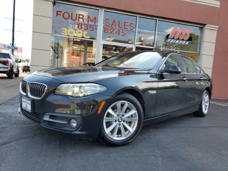 2015 BMW 5 Series for sale at FOUR M SALES in Buffalo NY