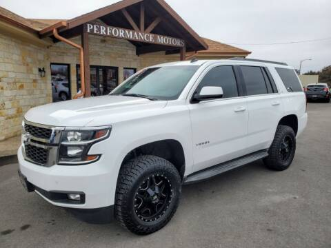 2015 Chevrolet Tahoe for sale at Performance Motors Killeen Second Chance in Killeen TX