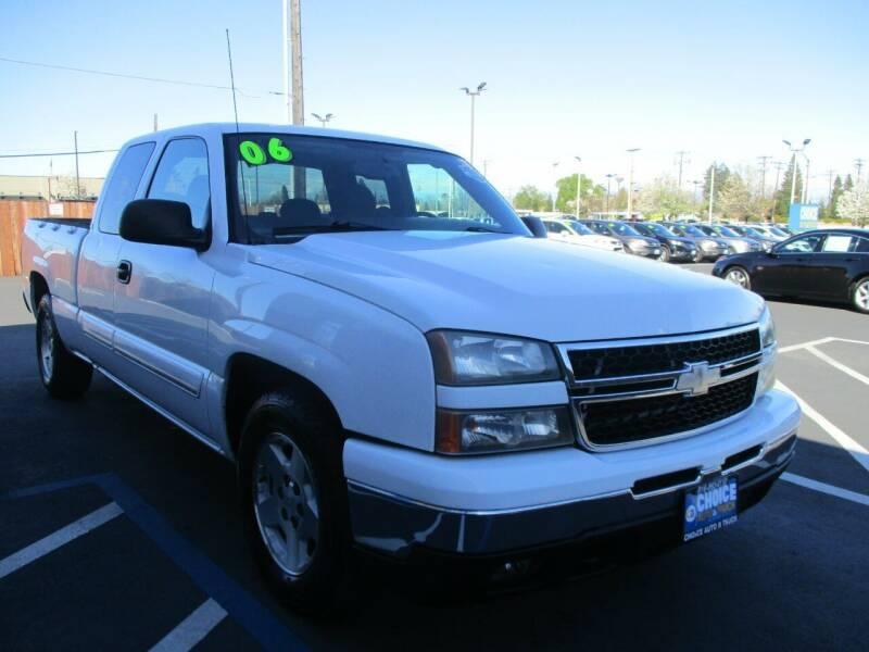 2006 Chevrolet Silverado 1500 for sale at Choice Auto & Truck in Sacramento CA