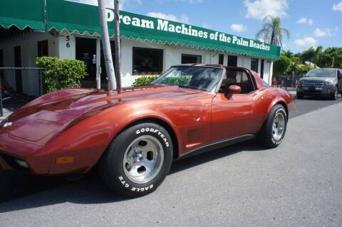 1978 Chevrolet Corvette for sale at Dream Machines USA in Lantana FL