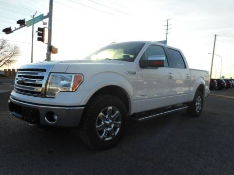 2013 Ford F-150 for sale at AUGE'S SALES AND SERVICE in Belen NM