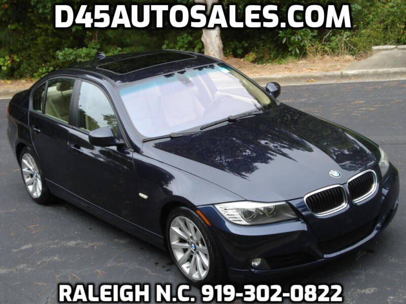 2009 BMW 3 Series for sale at D45 Auto Brokers in Raleigh NC
