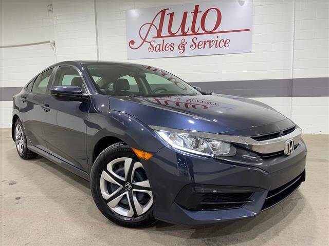 2018 Honda Civic for sale at Auto Sales & Service Wholesale in Indianapolis IN
