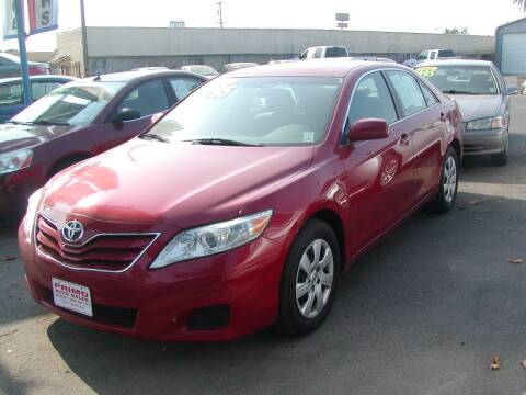 2011 Toyota Camry for sale at Primo Auto Sales in Merced CA