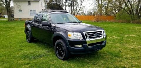 2007 Ford Explorer Sport Trac for sale at Cleveland Avenue Autoworks in Columbus OH