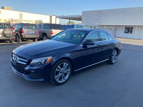 2018 Mercedes-Benz C-Class for sale at PRICE TIME AUTO SALES in Sacramento CA