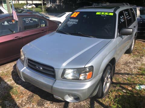 2005 Subaru Forester for sale at Castagna Auto Sales LLC in Saint Augustine FL