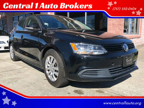 2014 Volkswagen Jetta for sale at Central 1 Auto Brokers in Virginia Beach VA